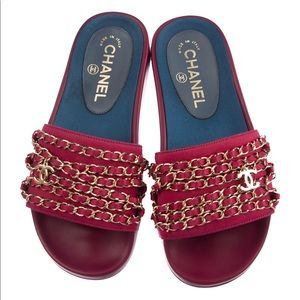 7bfee1ce8e4 Chanel Cruise Collection Tropiconic Sandal Slides